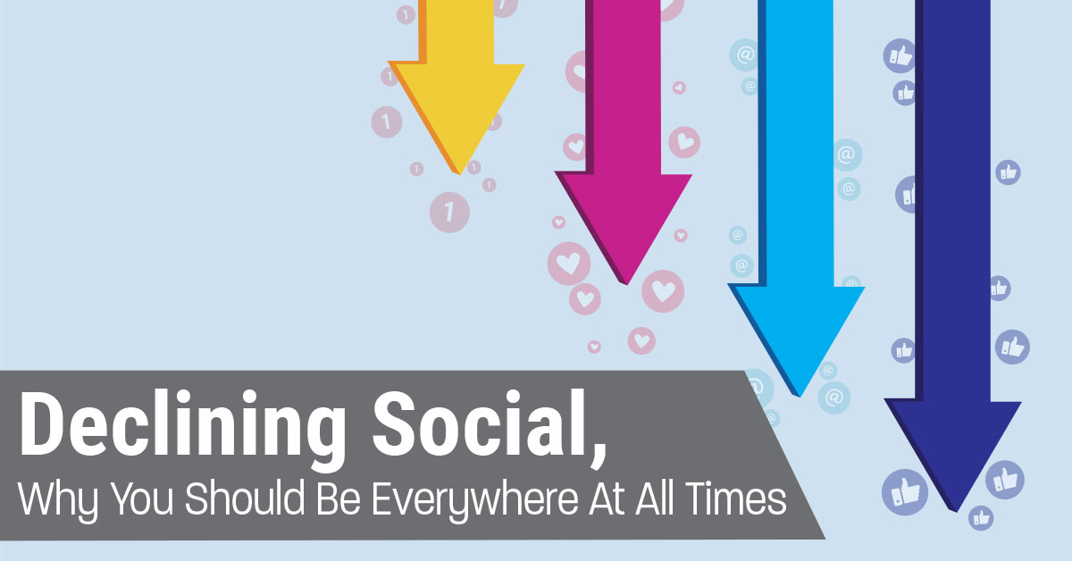 Declining Social, Why You Should Be Everywhere At All Times