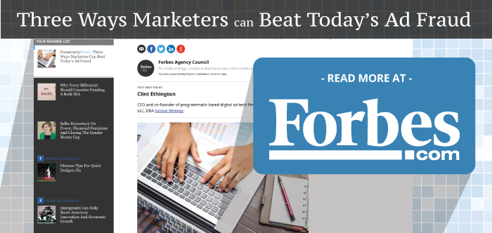 Three Ways Marketers Can Beat Today's Ad Fraud