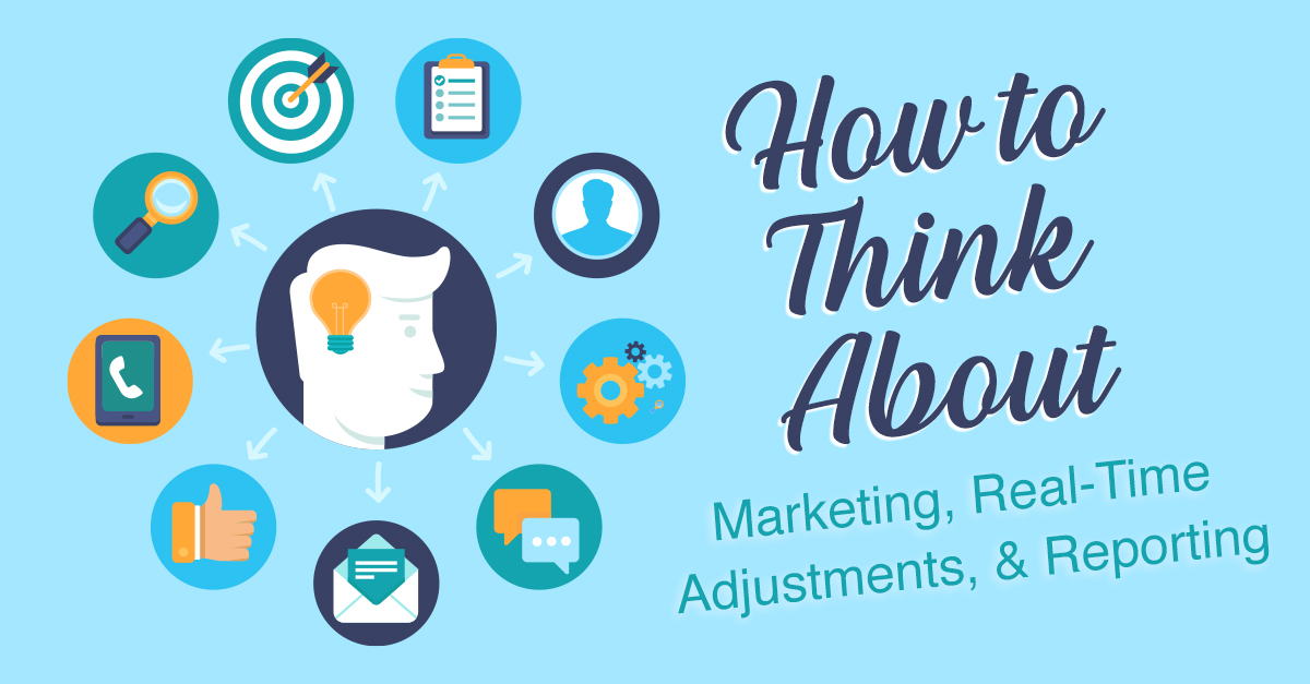 How to think about marketing, real-time adjustments, and reporting