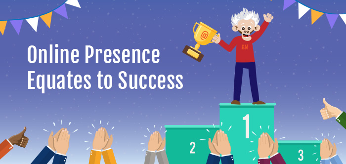 Online Presence Equates to Success