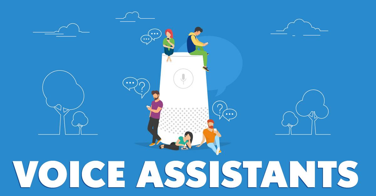 Voice Assistants ... A Future Marketing Op?